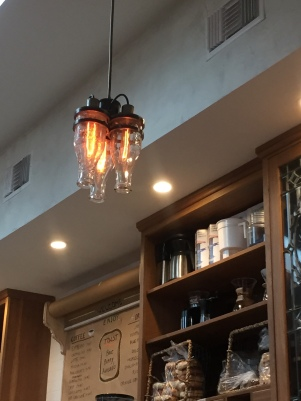 Bottle light fixtures